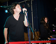 Washed Out <br /> performing live at The Scala, London, Great Britain <br /> 9th August 2011 <br /> <br /> Washed Out is the stage name of the American chillwave musician Ernest Greene (born in 1983, Perry, Georgia).<br /> <br /> Photograph by Elliott Franks