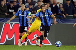 September 18, 2018 - Brugge, BELGIQUE - BRUGGE, BELGIUM - SEPTEMBER 18 : Mats Rits midfielder of Club Brugge pictured during the UEFA Champions League Group A stage match between Club Brugge and Borussia Dortmund at the Jan Breydel stadium on September 18, 2018 in Brugge, Belgium , 18/09/2018 (Credit Image: © Panoramic via ZUMA Press)