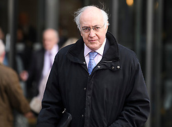 © Licensed to London News Pictures. 10/12/2018. London, UK. Conservative Lord MICHAEL HOWARD leaves a Conservative Friends of Israel event in central London. Mrs May is expected to call off tomorrows withdrawal agreement vote when she speaks in the House of Commons later. Photo credit: Ben Cawthra/LNP
