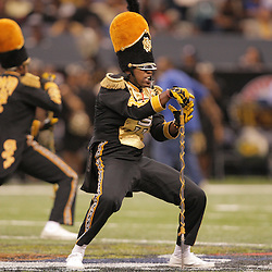 2008 November, 29: Grambling State drum major performs during a 29-14 win by Grambling State over Southern University during the 35th annual State Farm Bayou Classic at the Louisiana Superdome in New Orleans, LA.  .
