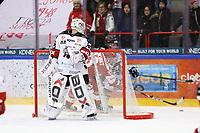 2020-03-06   Ljungby, Sverige: Bodens HF (35) Claes Endre under matchen i Hockeyettan mellan IF Troja/Ljungby och Bodens HF i Ljungby Arena ( Foto av: Fredrik Sten   Swe Press Photo )<br /> <br /> Nyckelord: Ljungby, Ishockey, Hockeyettan, Ljungby Arena, IF Troja/Ljungby, Bodens HF, fstb200306, playoff, kval