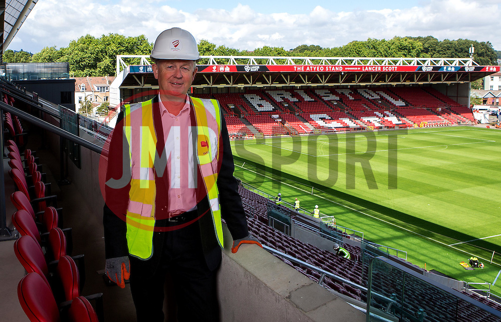 - Mandatory by-line: Robbie Stephenson/JMP - 27/07/2016 - FOOTBALL - Ashton Gate - Bristol, England - West Stand