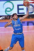 DESCRIZIONE : Trento Nazionale Italia Uomini Trentino Basket Cup Italia Olanda Italy Holland<br /> GIOCATORE : Davide Pascolo<br /> CATEGORIA : Tiro Sottomano<br /> SQUADRA : Italia Italy<br /> EVENTO : Trentino Basket Cup<br /> GARA : Italia Olanda Italy Holland<br /> DATA : 11/07/2014<br /> SPORT : Pallacanestro<br /> AUTORE : Agenzia Ciamillo-Castoria/Max.Ceretti<br /> Galleria : FIP Nazionali 2014<br /> Fotonotizia : Trento Nazionale Italia Uomini Trentino Basket Cup Italia Olanda Italy Holland