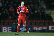 York City defender, on loan from Newcastle United, Kyle Cameron  during the Sky Bet League 2 match between York City and Exeter City at Bootham Crescent, York, England on 16 February 2016. Photo by Simon Davies.