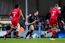 Joe Simmonds of Exeter Chiefs - Mandatory by-line: Ryan Hiscott/JMP - 29/12/2019 - RUGBY - Sandy Park - Exeter, England - Exeter Chiefs v Saracens - Gallagher Premiership Rugby