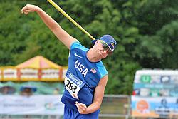 06/08/2017; Hayes, Garrison, T42, USA at 2017 World Para Athletics Junior Championships, Nottwil, Switzerland