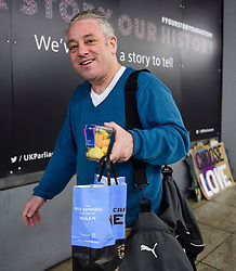 © Licensed to London News Pictures. 20/03/2019. London, UK. Speaker JOHN BERCOW is seen arriving at the Houses of Parliament in London. British Prime Minster Theresa May is reportedly due to write to EU leaders to ask for an extension to Article 50 following Parliament's failure to approve the proposed withdrawal agreement. Photo credit: Ben Cawthra/LNP