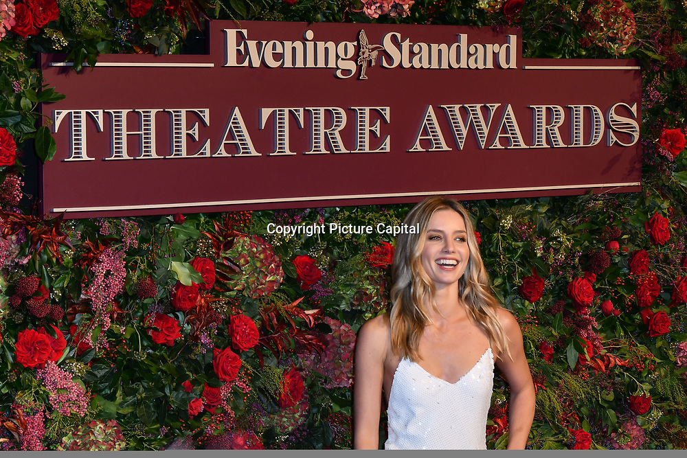 Annabelle Wallis attends Evening Standard Theatre Awards at Theatre Royal, on 18 November 2018, London, UK.