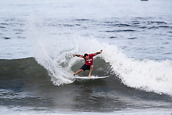 Willian Cardoso of Brazil advances to round 4 after placing second in round 3 heat 5 ​of the 2018 Hawaiian Pro at Haleiwa, Oahu, Hawaii, USA.