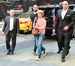 EXCLUSIVE: Chelsea Manning strolls through Times Square where it appears she may be taping b-roll for an interview. 12 Jun 2017 Pictured: Chelsea Manning. Photo credit: JDH Imagez/MEGA TheMegaAgency.com +1 888 505 6342