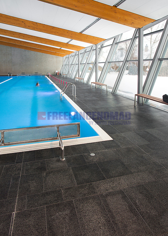 Brushed and flamed G684 Black rain Granite dark basalt public swimming pool floor paving tiles project