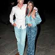 Barclay Catwalk 2001, TMF Renee Vervoorn en partner Francis Zwaneveld