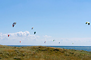 Sylt, Germany. Ellenbogen (Elbow). Kite surfing.