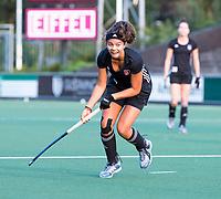 AMSTELVEEN - Noor de Baat (A'dam) tijdens de  training van de dames van Amsterdam (AH&BC) voor de eerste competitiewedstrijd. COPYRIGHT KOEN SUYK