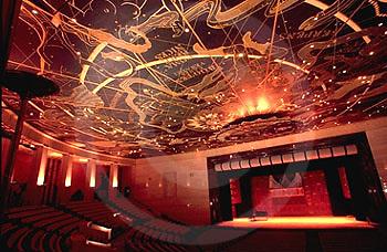 Capital Complex, Harrisburg, PA, The Forum Auditorium, Celestial Ceiling Architecture