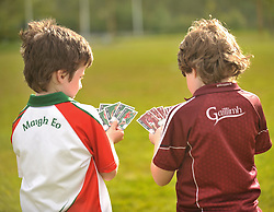 Galway v Mayo sometimes Its more than a game.<br /> Pic Conor McKeown