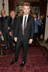SAM SMITH at the GQ Men Of The Year 2014 Awards in association with Hugo Boss held at The Royal Opera House, London on 2nd September 2014.