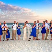 Winter-Steffens Beach Wedding Photos