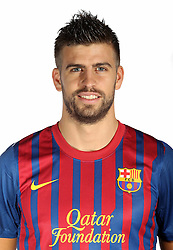 24.08.2011, Barcelona, ESP, FC Barcelona Fotocall, im Bild Portrait von Gerard Pique, EXPA Pictures © 2011, PhotoCredit: EXPA/ Alterphotos/ ALFAQUI/ Gregorio