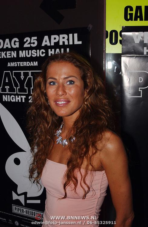 Playboyfeest 2003, Jorinde Moll