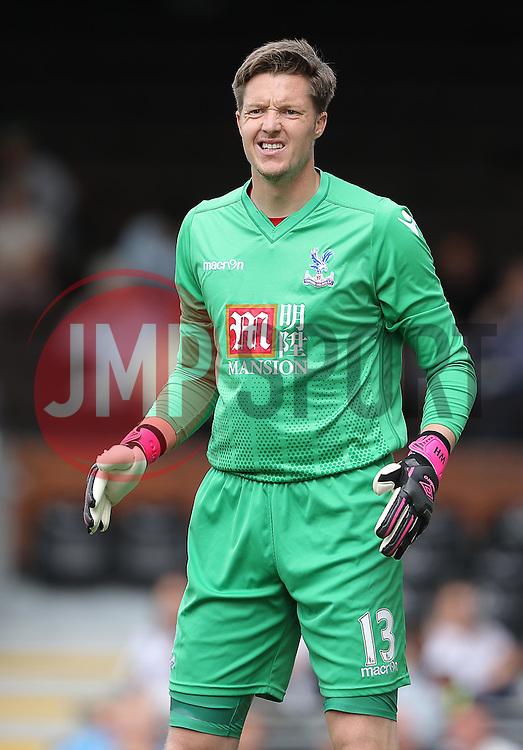 Wayne Hennessey of Crystal Palace - Mandatory by-line: Paul Terry/JMP - 07966386802 - 01/08/2015 - SPORT - FOOTBALL - Fulham,England - Craven Cottage - Fulham v Crystal Palace - Pre-Season Friendly