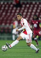 Lance Davids during the PSL match between Ajax Cape Town and Moroka Swallows held at Newlands Stadium in Cape Town, South Africa on 28 October 2009..Photo by Ron Gaunt/SPORTZPICS