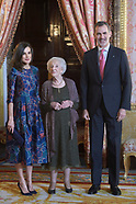 042419 Spanish Royals Host a Lunch For Literature World Members