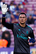 Keylor Navas from Puerto Rico of Real Madrid during the Spanish championship La Liga football match between FC Barcelona and Real Madrid on May 6, 2018 at Camp Nou stadium in Barcelona, Spain - Photo Andres Garcia / Spain ProSportsImages / DPPI / ProSportsImages / DPPI