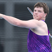 Riley Dolezal, USA, in action in the Men's Javelin competition during the Diamond League Adidas Grand Prix at Icahn Stadium, Randall's Island, Manhattan, New York, USA. 13th June 2015. Photo Tim Clayton