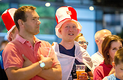 Poland fans watch their nations fixture with Germany on the big screen in the Sports Bar and Grill at Ashton Gate - Mandatory by-line: Robbie Stephenson/JMP - 16/06/2016 - FOOTBALL - Ashton Gate - Bristol, United Kingdom  - Germany vs Poland - UEFA Euro 2016