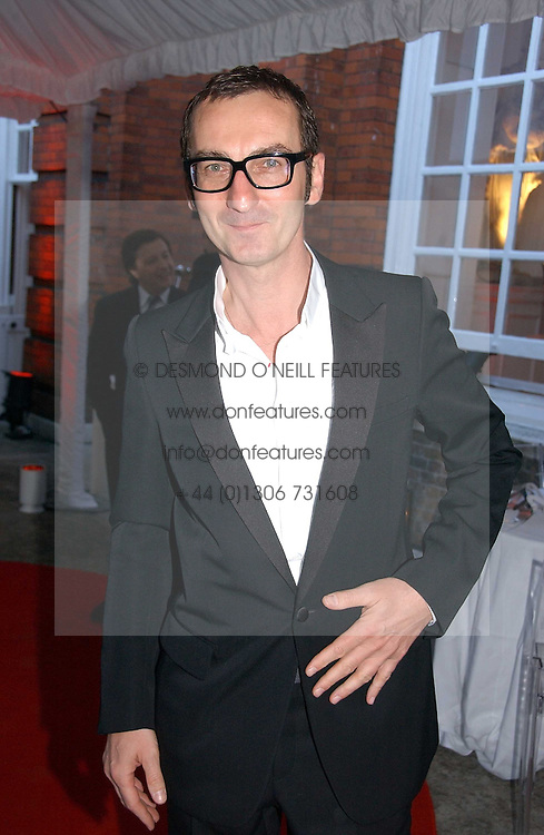 BRUNO FRISONI at a party to celebrate the opening of Roger Vivier in London held at The Orangery, Kensington Palace, London on 10th May 2006.<br /><br />NON EXCLUSIVE - WORLD RIGHTS