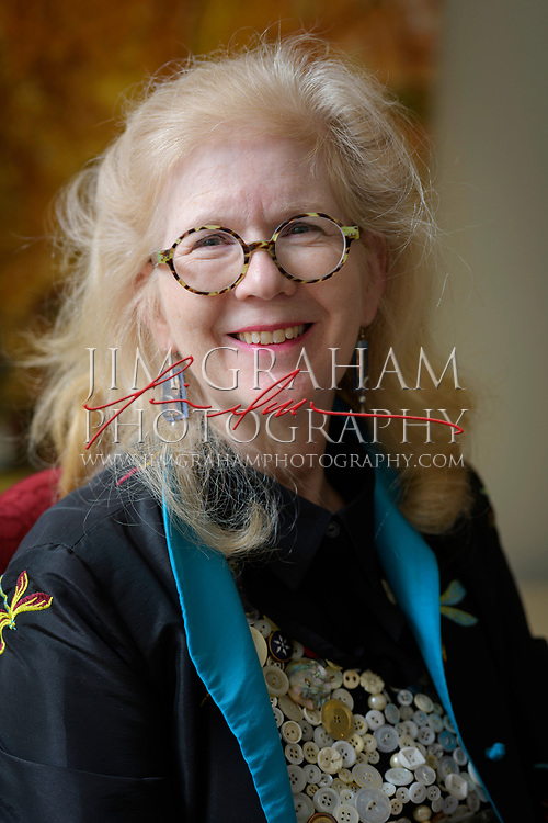 Joyce Hill Stoner during an interview at Winterthur Museum on 28 September 2017.Photograph by Jim Graham