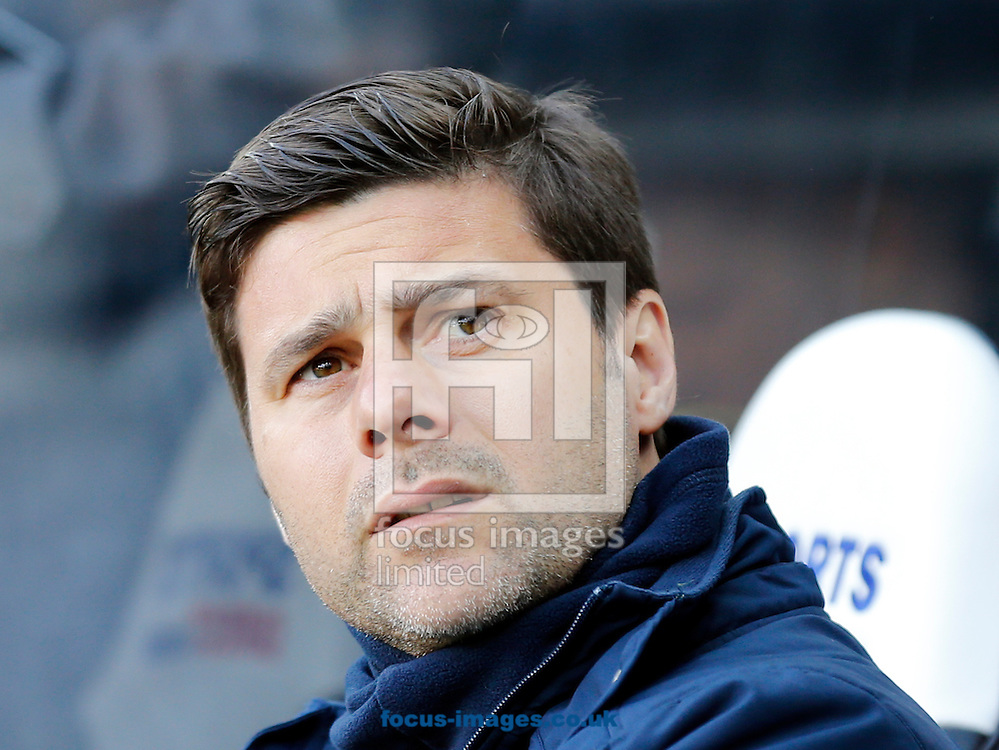 Tottenham Hotspur manager Mauricio Pochettino prior to the Barclays Premier League match at St. James's Park, Newcastle<br /> Picture by Simon Moore/Focus Images Ltd 07807 671782<br /> 19/04/2015