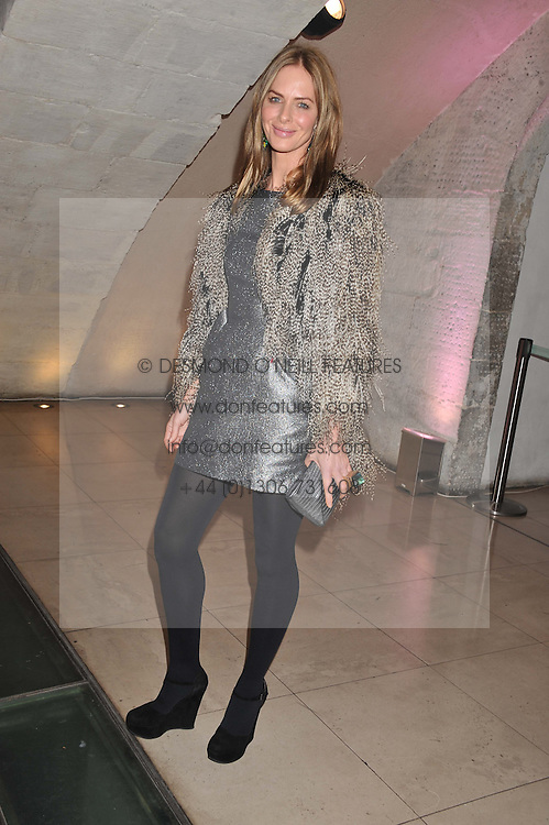 TRINNY WOODALL at a private view of 'Valentino: Master Of Couture' at Somerset House, London on 28th November 2012.