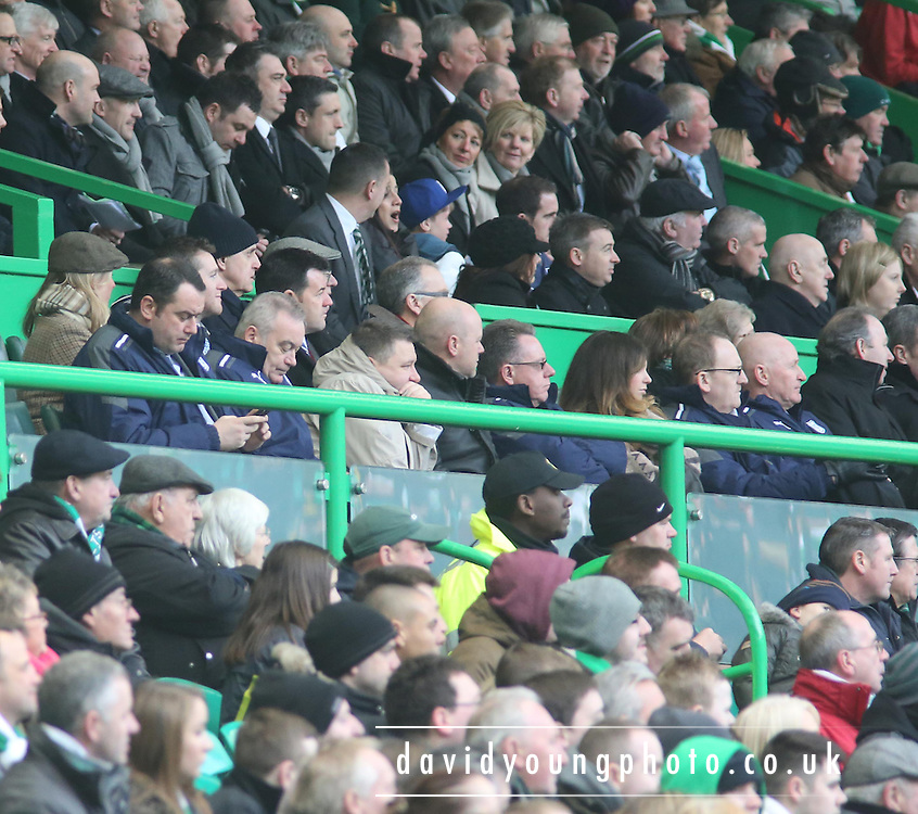 1a85473262 Dundee section of directors box - Celtic v Dundee - Clydesdale Bank