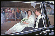 Charlotte Monckton, wedding to Guy Morrison, Dorchester, 24/09/83© Copyright Photograph by Dafydd Jones 66 Stockwell Park Rd. London SW9 0DA Tel 020 7733 0108 www.dafjones.com