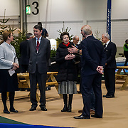 HRH Princess Anne,Sir Timothy Laurence Royal tour of the London Boat Show at Excel London  11th January 2017,London,UK. by See Li