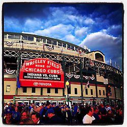 Wrigley Field, 2016 World Series