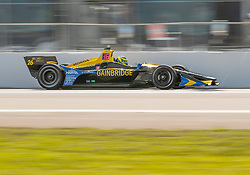 March 9, 2019 - St. Petersburg, FL, U.S. - ST. PETERSBURG, FL - MARCH 09: Andretti Autosport driver Zach Veach (26) of United States during the NTT IndyCar Series - Firestone Grand Prix Qualifying on March 9 in St. Petersburg, FL. (Photo by Andrew Bershaw/Icon Sportswire) (Credit Image: © Andrew Bershaw/Icon SMI via ZUMA Press)