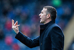 Queen of the South's manager Jim McIntyre.<br /> Falkirk 1 v 0 Queen of the South, Scottish Championship game today at the Falkirk Stadium.<br /> &copy; Michael Schofield.