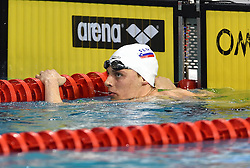 02-04-2015 NED: Swim Cup, Eindhoven<br /> Zan Pogacar SLO, 200 backstroke<br /> Photo by Ronald Hoogendoorn / Sportida