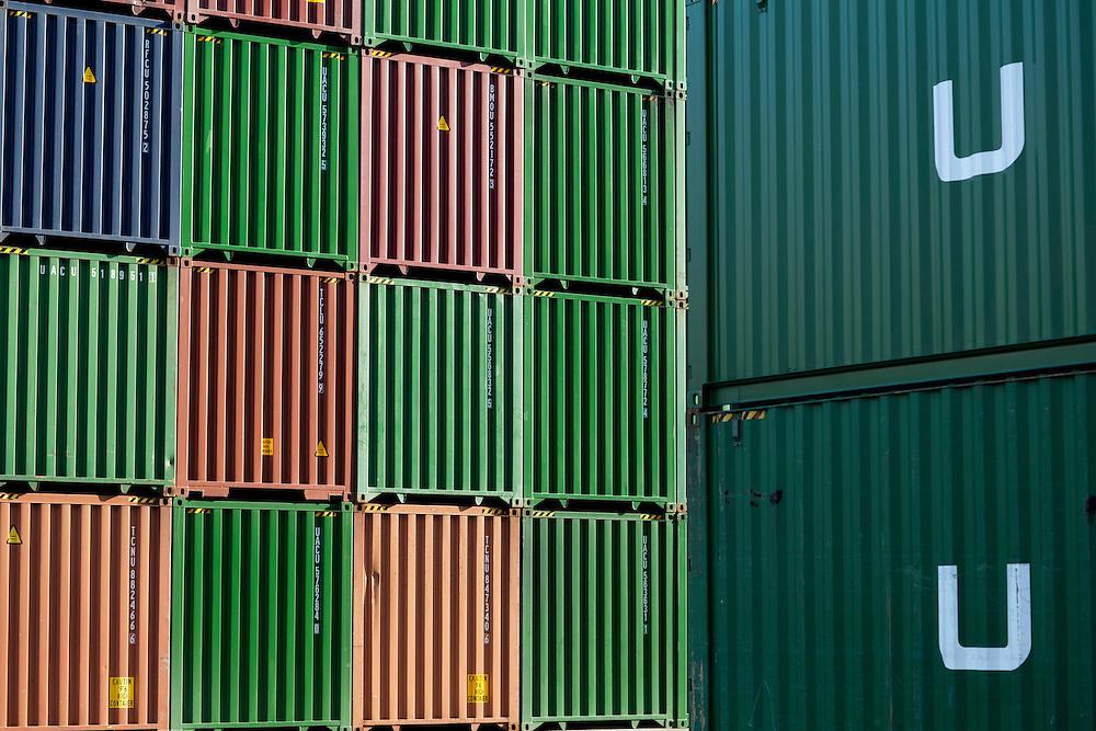 Georgia Ports Authority,Thursday, July  24, 2014, at the Garden City Terminal near Savannah, Ga.  (GPA Photo/Stephen B. Morton)