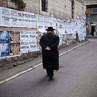 Mea Shearim - ultra orthodox jew quarters in Jerusalem