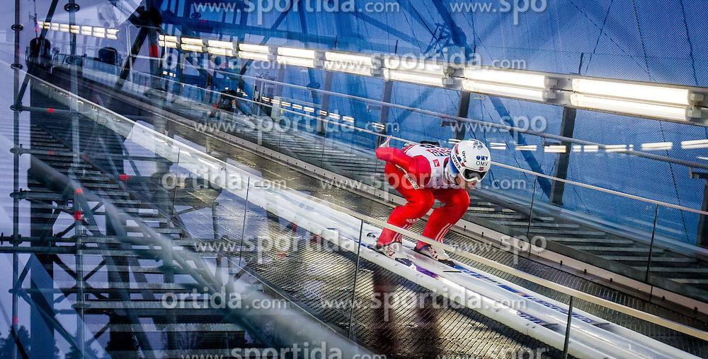 21.02.2015, Lugnet Ski Stadium, Falun, SWE, FIS Weltmeisterschaften Ski Nordisch, Skisprung, Herren, Finale, im Bild Anders Jacobsen (NOR) // Anders Jacobsen of Norway during the Mens Skijumping Final of the FIS Nordic Ski World Championships 2015 at the Lugnet Ski Stadium, Falun, Sweden on 2015/02/21. EXPA Pictures © 2015, PhotoCredit: EXPA/ JFK