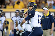 TEMPE, AZ - SEPTEMBER 03:  Quarterback Case Cookus #15 of the Northern Arizona Lumberjacks warms up prior to the game against the Arizona State Sun Devilsat Sun Devil Stadium on September 3, 2016 in Tempe, Arizona. The Sun Devils won 44-13.  (Photo by Jennifer Stewart/Getty Images)