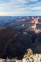 Hopi Point in Winter With View of Colorado River at South Rim, Grand Canyon National Park, Arizona