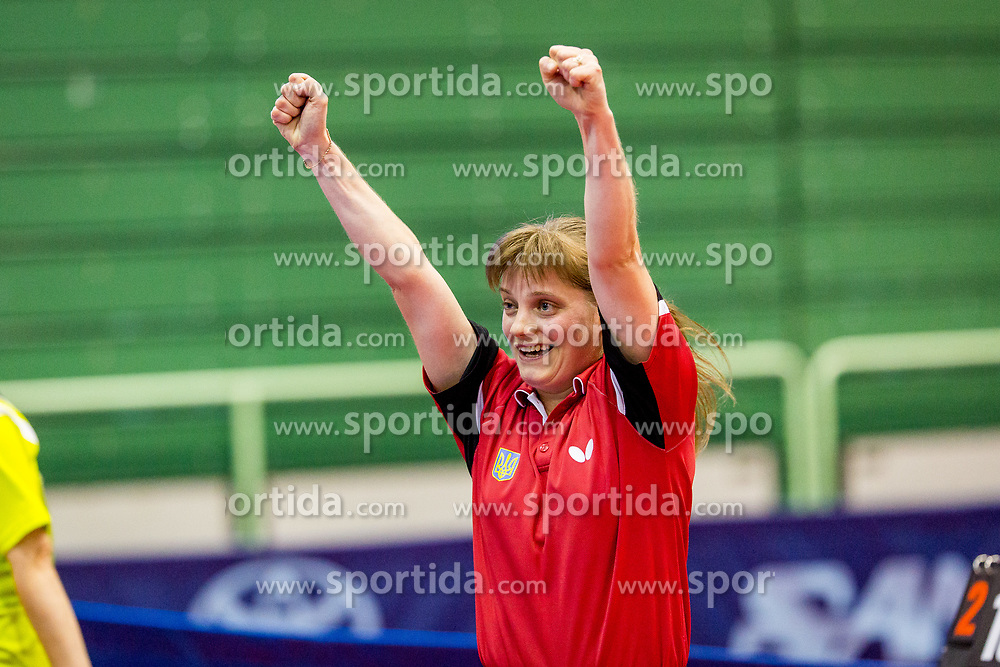 KOSMINA, Natalya during day 3 of 15th EPINT tournament - European Table Tennis Championships for the Disabled 2017, at Arena Tri Lilije, Lasko, Slovenia, on September 30, 2017. Photo by Ziga Zupan / Sportida
