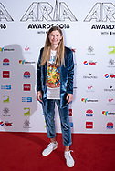 Alex the Astronaut at The 2018 ARIA Awards at The Star in Sydney, Australia