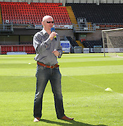 United chairman Stephen Thomson welcomes the fans - Dundee United open day at Tannadice<br /> <br />  - Pictures © David Young