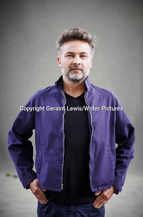 Barroux, Graphic, Novel, writer, illustrator, at Edinburgh International Book Festival<br /> 22nd August 2014<br /> <br /> Photograph by Geraint Lewis/Writer Pictures<br /> <br /> WORLD RIGHTS